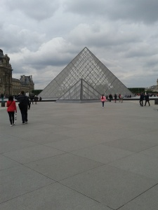 The maze that is the Louvre