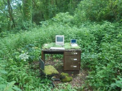 computer in garden better