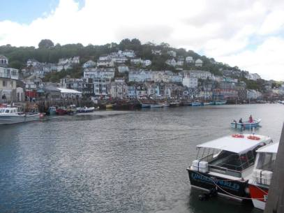 Looe river and town