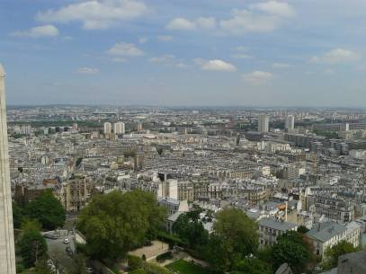 View from Sacre Coeur.